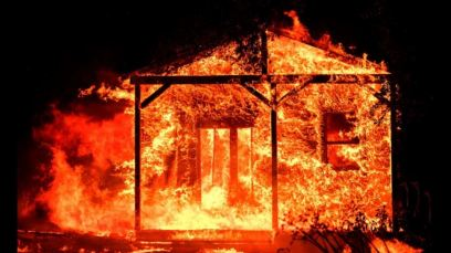 Fire in Napa