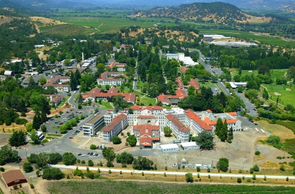 Yountville Aerial Shot