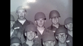 Spc. 4 Ernest Allen Meekins, center, served in the U.S. Army from 1967 to 1969.
