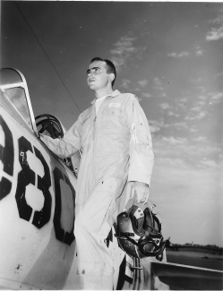 Lt. Harold Stuart Roach, Jr. died Oct. 2, 1964 when his plane went down in the South China Sea.