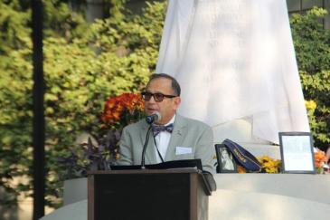 Dr. Imbasciani speaking