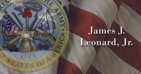 James Leonard Jr - Army