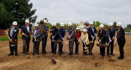 Breaking ground in Rancho Cordova