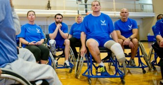 Disabled veterans WC