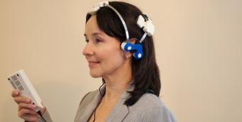 Headset for TBI