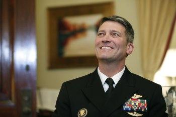 Navy Adm. Ronny Jackson
