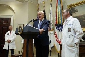 Trump and Dr. Shulkin
