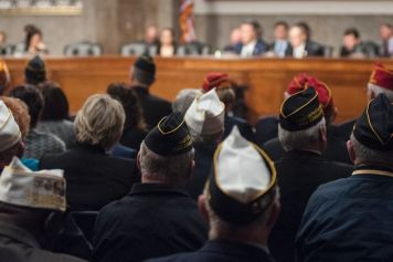Veterans in court