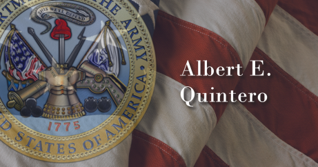 Army Cpl. Albert E. Quintero