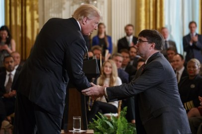 Trump and Wilkie