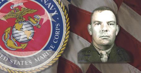 Marine Corps Reserve Pvt. Charles A. Drew