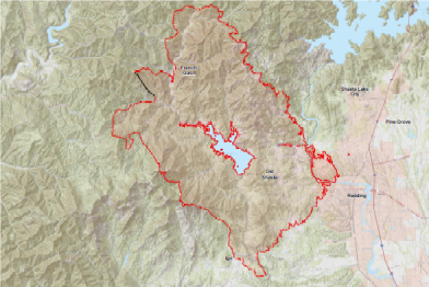 Calvet Closely Monitoring The Carr Fire