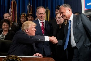 Trump and Perlmutter