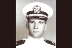 Navy Cmdr. James B. Mills