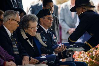 Korean War Veteran return LA Times