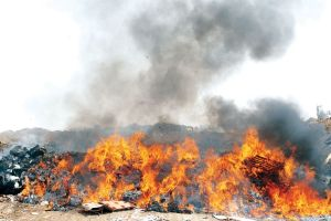 Burn pits photo