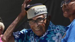 Pearl Harbor Survivor Ray Chavez