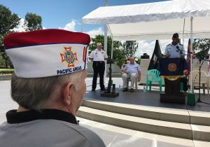 Veterans from Pacific Area