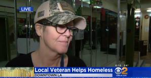 Veteran in LA helps homeless