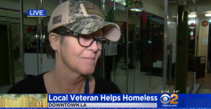Veteran in LA helps homeless