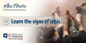 learn the signs of crisis