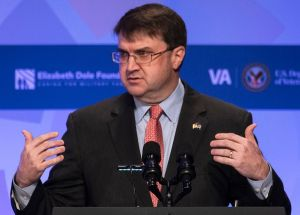 wilkie at veterans caregivers conference