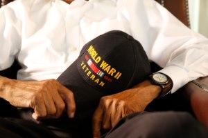 world war ii veteran hat