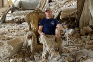 Gary Sinese in Baghdad