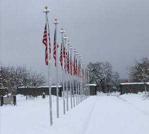 NCVC in Igo snow