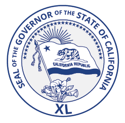 Gov Newsom seal