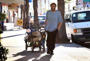 Homeless veteran in Oceanside
