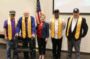 Superintendent and veterans