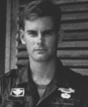 Chuck Woodson in Vietnam, late 1960s.