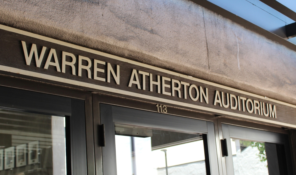 The Warren Atherton Auditorium
