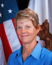 Lisa Peake, acting administrator of CalVet's Veterans Home of California-Yountville.