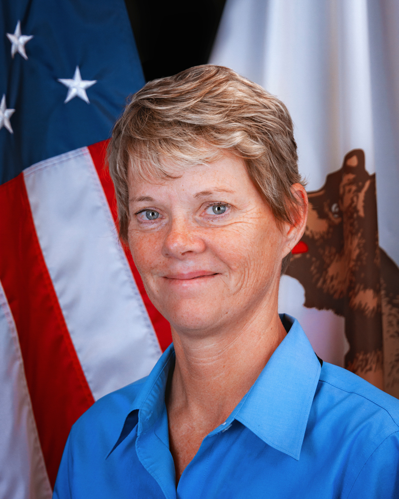 Lisa Peake, acting administrator of CalVet's Veterans Home of California-Yountville.