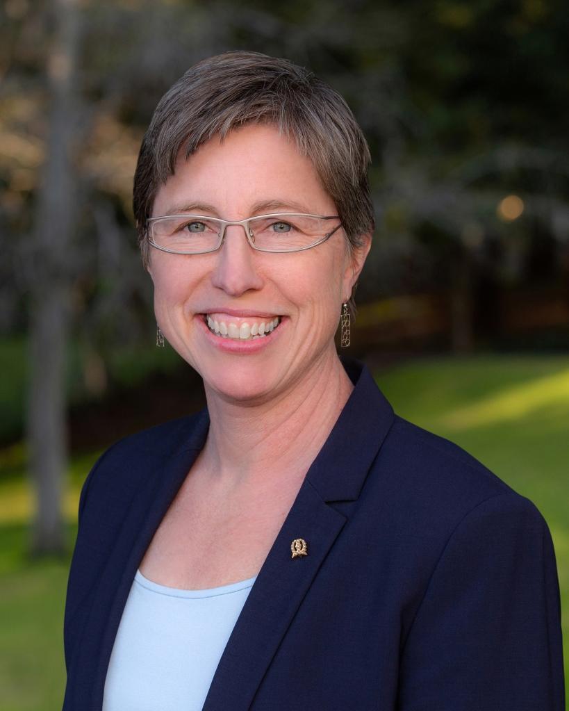 Mills College President Elizabeth Hillman