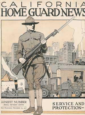 1917 California National Guard poster.
