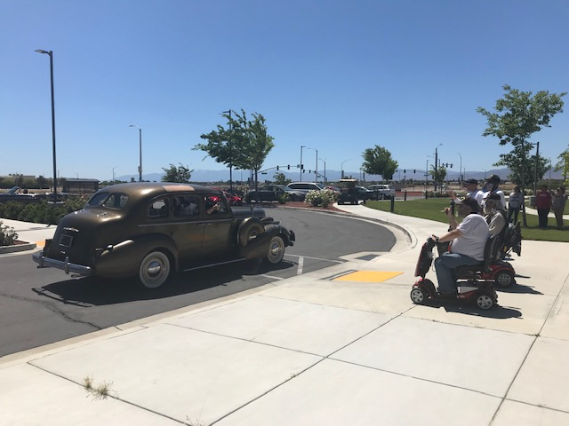Veterans at the Lancaster Home enjoyed custom car parade as part of Memorial Day commemoration.