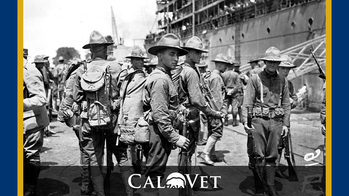 American troops line up on the streets of Nazarie. Saint