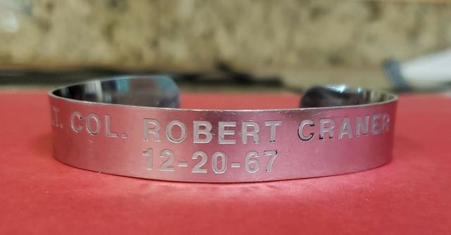 A photo of a bracelet.