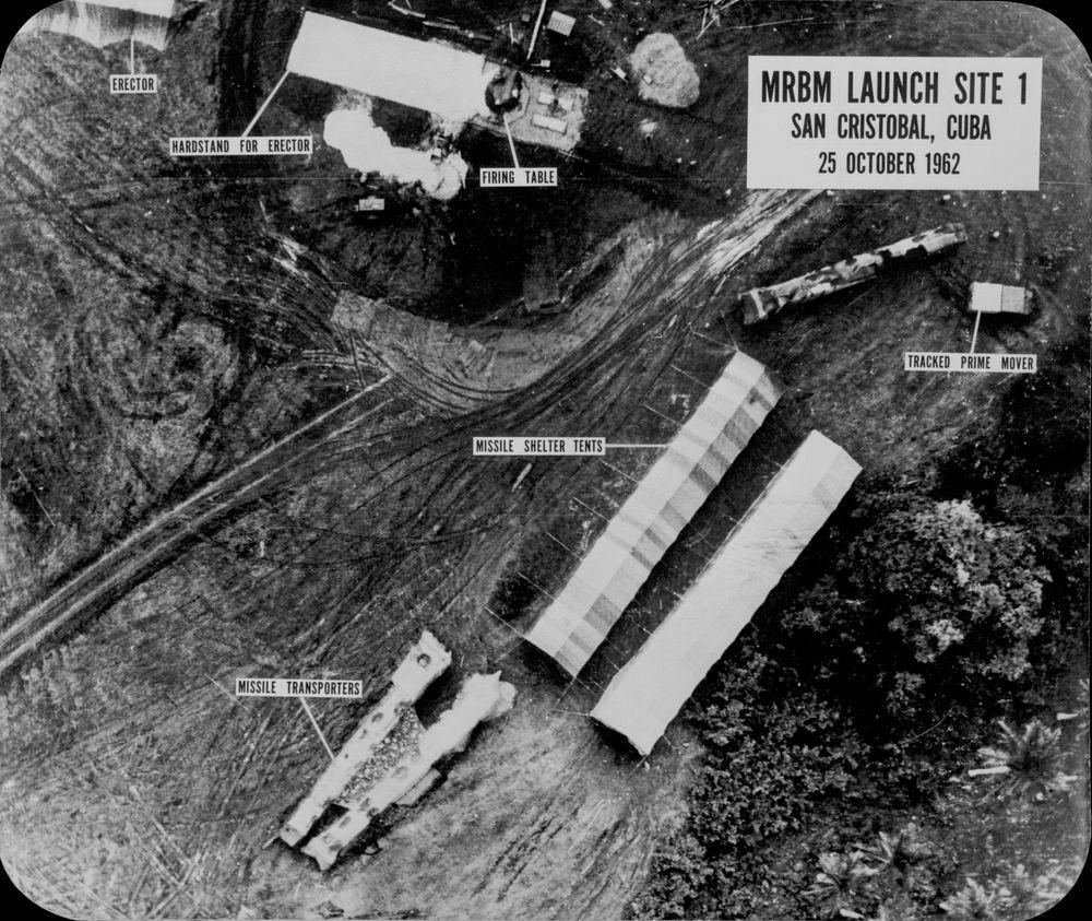 Cuban launch site under construction.