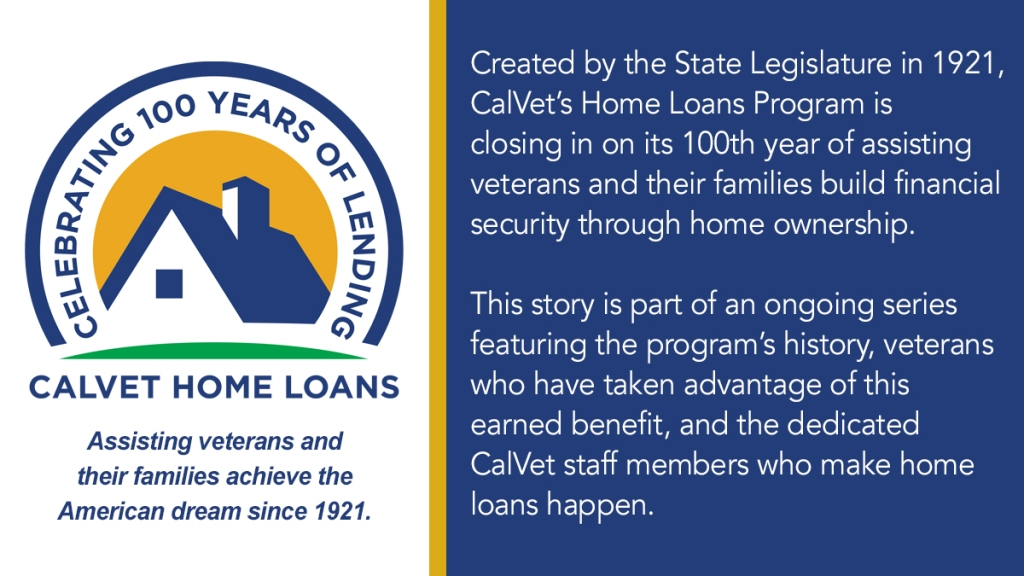 Veteran Kenneth James went from living on Skid Row to owning a home thanks to CalVet Home Loans.
