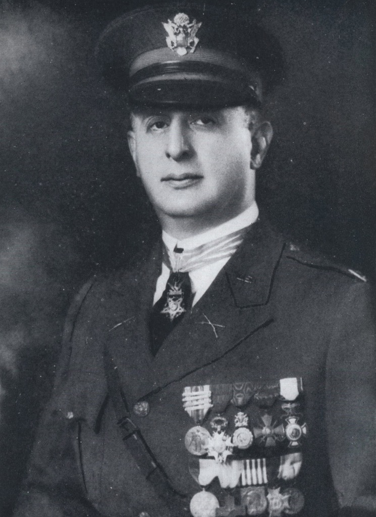 A photo of Sydney Gupertz in uniform during his service.