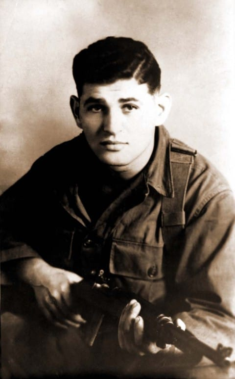 A photo of Tibor Rubin during his service.