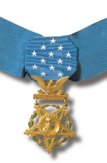 The US Army Medal of Honor is the highest distinction for heroic acts.