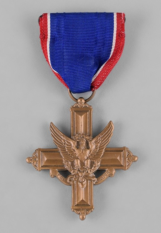 The US Army Distinguished Service Cross is the second highest award for heroism.