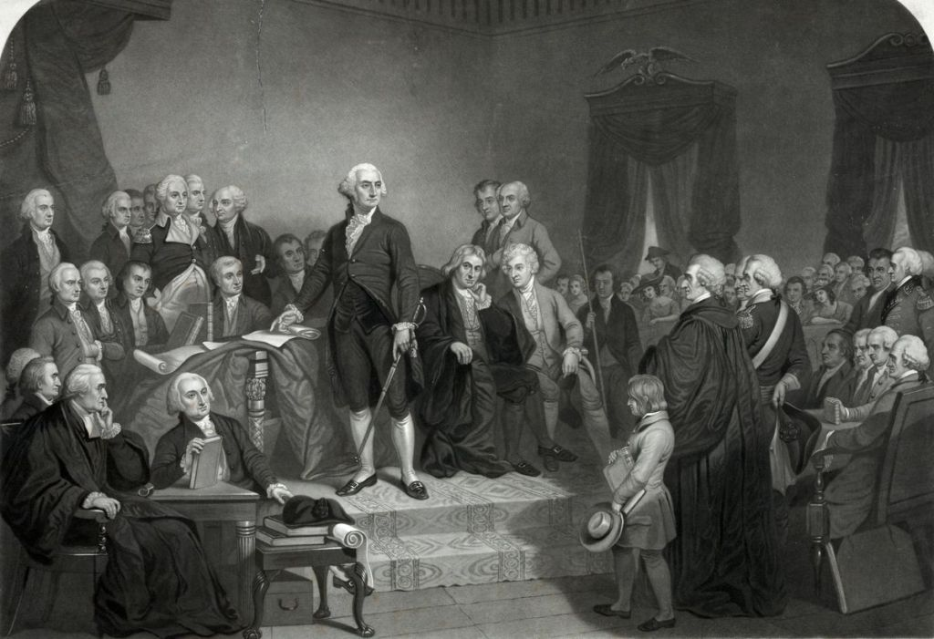 State of the Union Anniversary from the first president George Washington