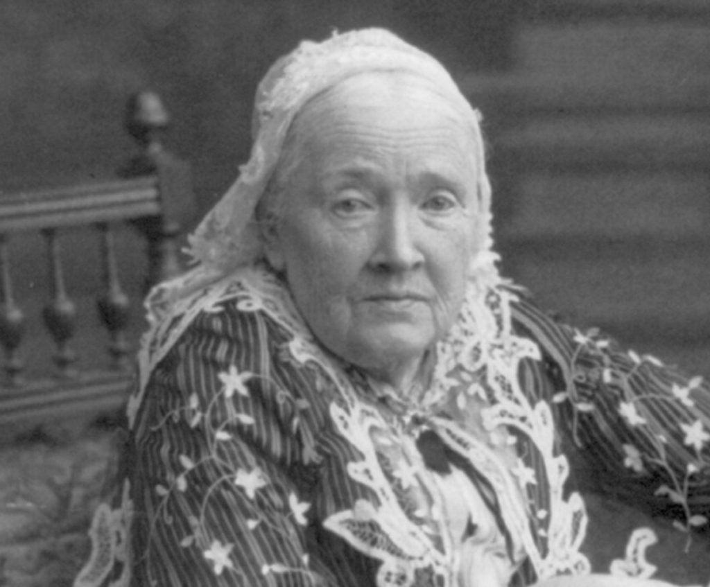 Human rights activist Julia Ward Howe wrote the Battle Hymn of the Republic.