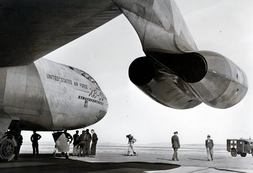 B-52 during it's launch. U.S.AirForce